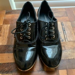 Gianni Bini - Black Patent Leather Oxfords